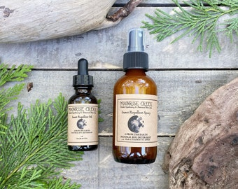 Insect Repellent • A from the earth natural bug deterrent • Oil and Spray Available