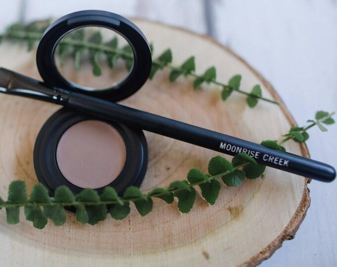 Eye Brow Powder • Botanical Blend • Blonde + Auburn + Taupe + Deep Brown + Charcoal • Earth Mineral Cosmetics • Vegan + Organic