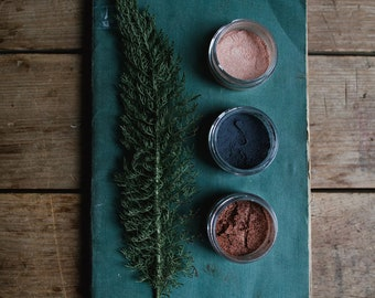 Mineral Eye Shadows • Loose Powder • Earth Mineral Cosmetics • Planet Wise + All Natural + Vegan