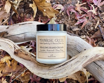 Hand Cream • Healing + Moisturizing • Pure Plant Wisdom for Dry and Cracked Hands