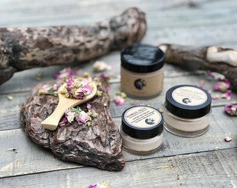 SAMPLE • Lavish Face Cream • Deeply Moisturizing + Non Comedogenic • Nutrient Rich Skin Food • All Natural Botanical Skin Care