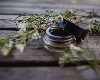 Gel Eye Liner Smudge Pot • Botanical Blend • ONYX • Earth Mineral Cosmetics • Vegan + Organic + Gluten Free + Cruelty Free