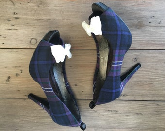 8cd8ced12ea6 Custom tartan shoes (Exclusive package)
