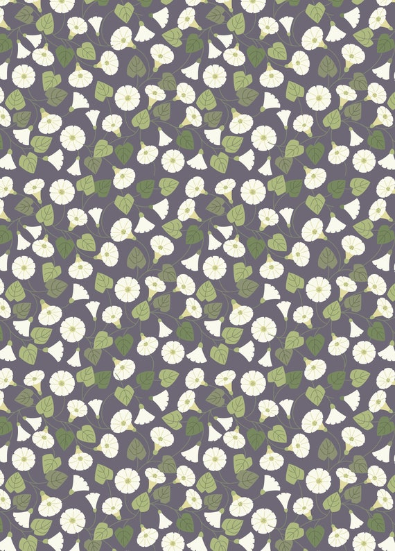 A254.3 Granny-pop-out-of-beds On Warm Grey Lewis /& Irene Patchwork Quilting Dressmaking Fabric