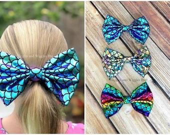 "50 BLESSING Good Girl Boutique 2 Tone 3.5/"" Umbrella Hair Bow Clip Accessories"