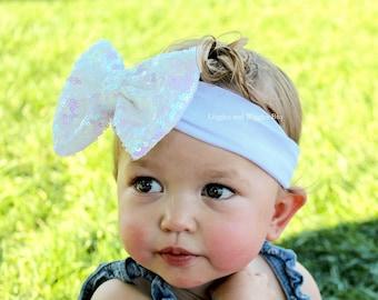 Sequin bow headband  14c100887201