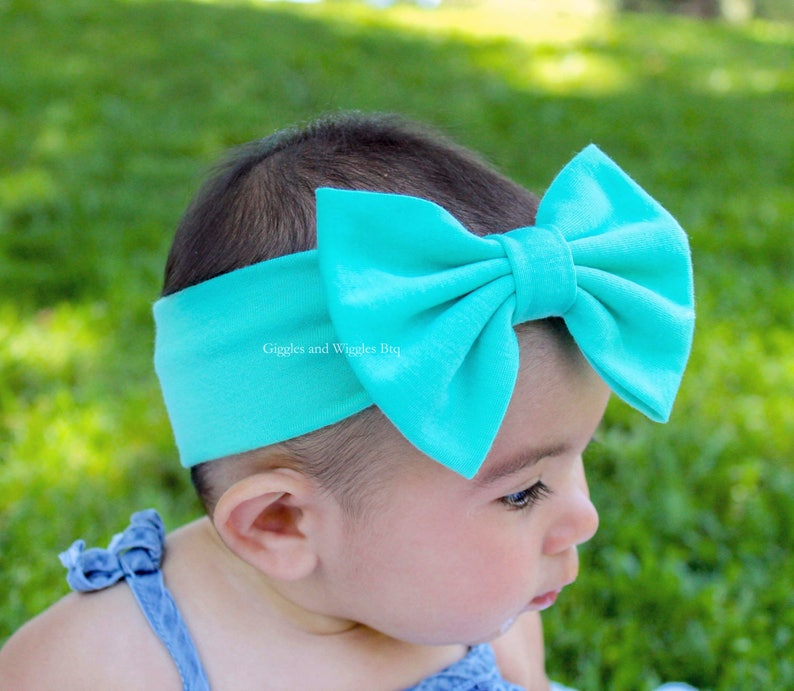pink bow hair bows for babies baby girl headwrap Baby headbands hair bands Baby bow headband set 25 colors infant headbands