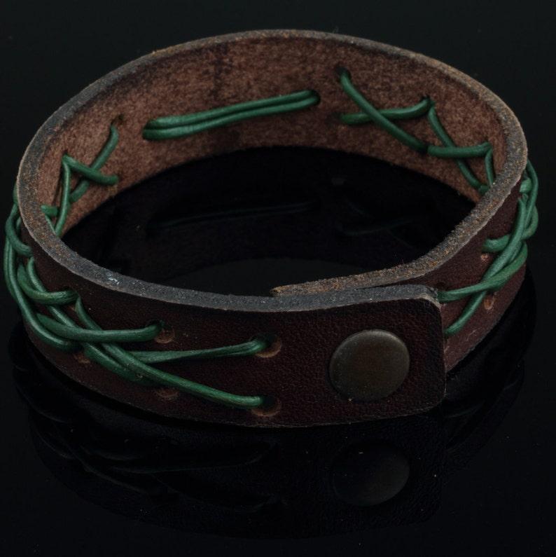 Custom Name Bracelet for Husband Personalized Bracelet Model#1209 Personalized Mens Bracelet Unisex Leather Bracelet Genuine Leather