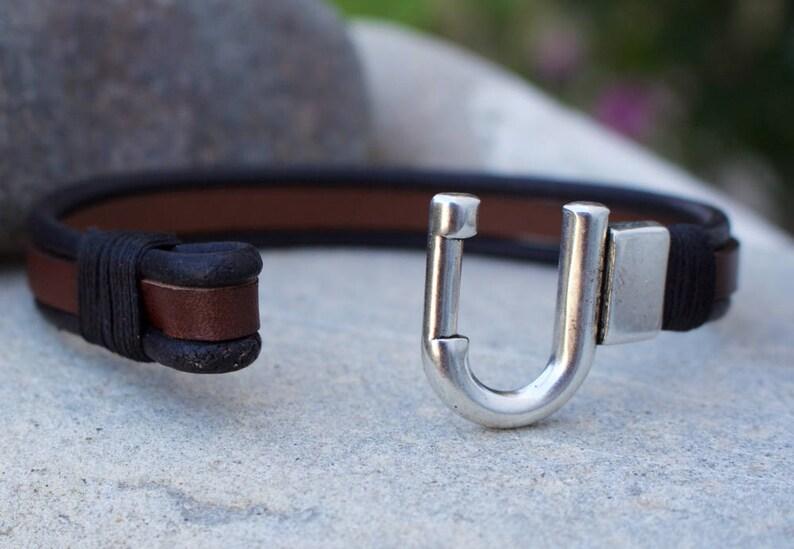 Customized Husbant Gift Name Bracelet Private massage,Mens gift Christmas Gift,Personalized Men/'s Bracelet Mens bracelet