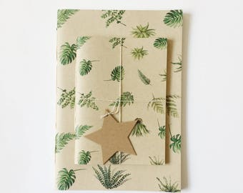 Set of A5 + A6 Botanical Notebook