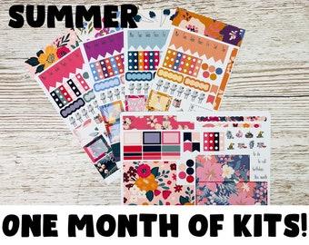 Summer Hobonichi Sticker Kit; Hobonichi Weeks Kits Hobonich Cousin Kits; Monthly Kit; Weeks Sticker; Hobonichi Weekly Kit