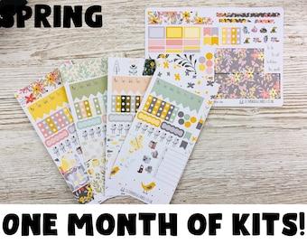 Spring Hobonichi Sticker Kit; Hobonichi Weeks Kits Hobonich Cousin Kits; Monthly Kit; Weeks Sticker; Hobonichi Weekly Kit