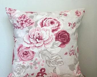 Wrendale Design **BEES /& BUTTERFLIES** Cotton//Linen Blend Cushion Cover ~ 40cm