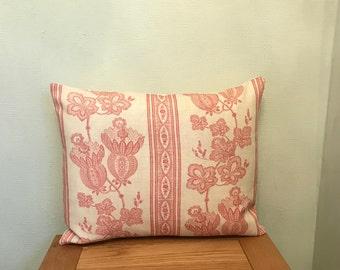 Kate Forman **MAUDE**  Linen Blend Cushion Cover 39cm x 30cm