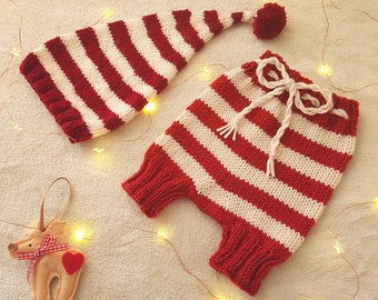 Christmas Hat and Little Shorts Set