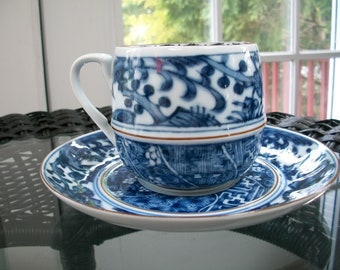 CHING-TE-CHEN by International- 6 cup and saucer