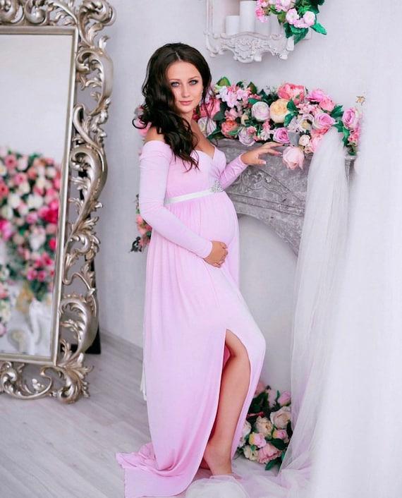 Maternity Dress Baby Shower Dress Maternity Dress For Etsy