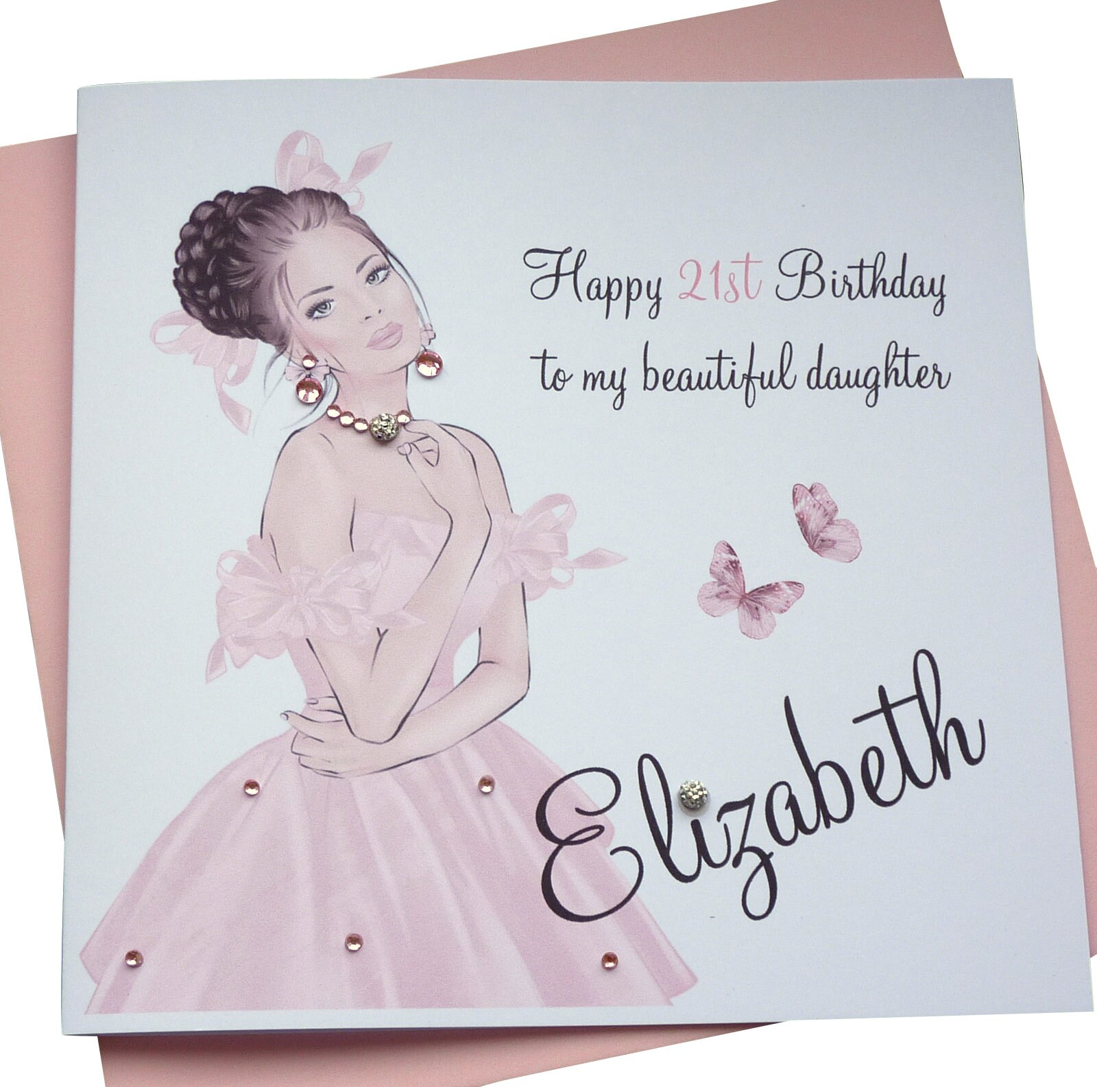 Personalised Birthday Card 30th 30th 30st 30th 30th 30th   Sister Daughter  Granddaughter Goddaughter etc
