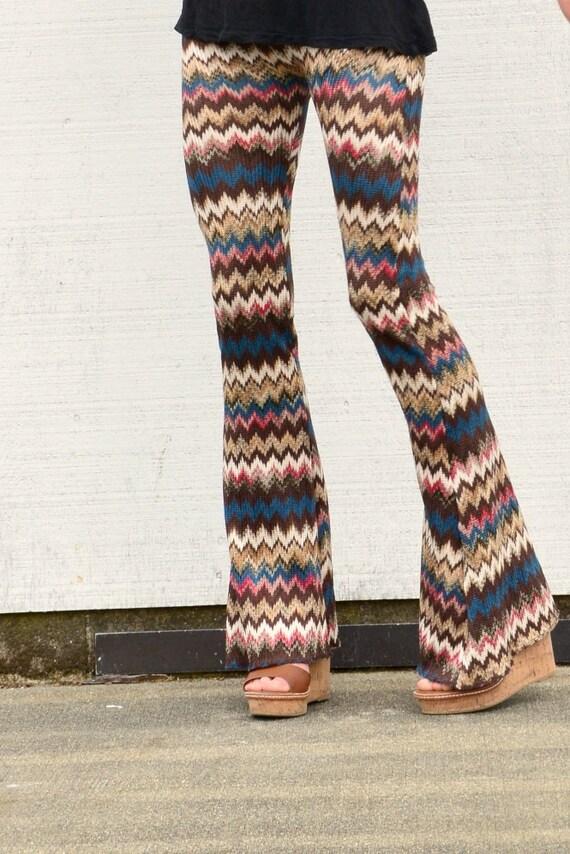 Pullover stricken Chevron Streifen Herbst Mode Boho Strand | Etsy