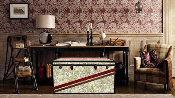 Lujo Morris fondos mesa de centro baúl exclusivo muebles