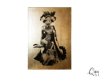 QUEEN - A4 Neo Victorian Imagery Artwork