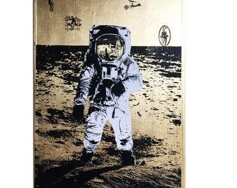 APOLLO - Neo Victorian NASA Imagery Artwork