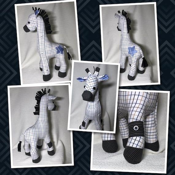 Memory Keepsake Giraffe from your clothing