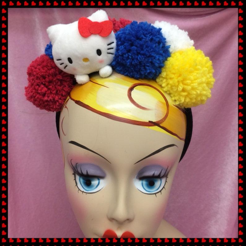 Hello Kitty Pom Pom headband image 0
