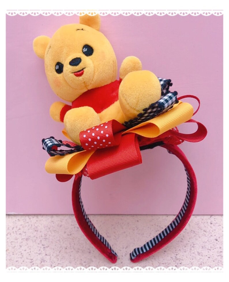 Disney Wishables Winnie the Pooh headband image 0