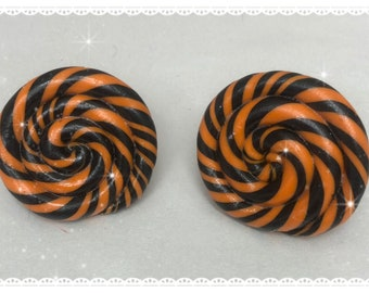 Pumpkin spice lollipop adjustable ring