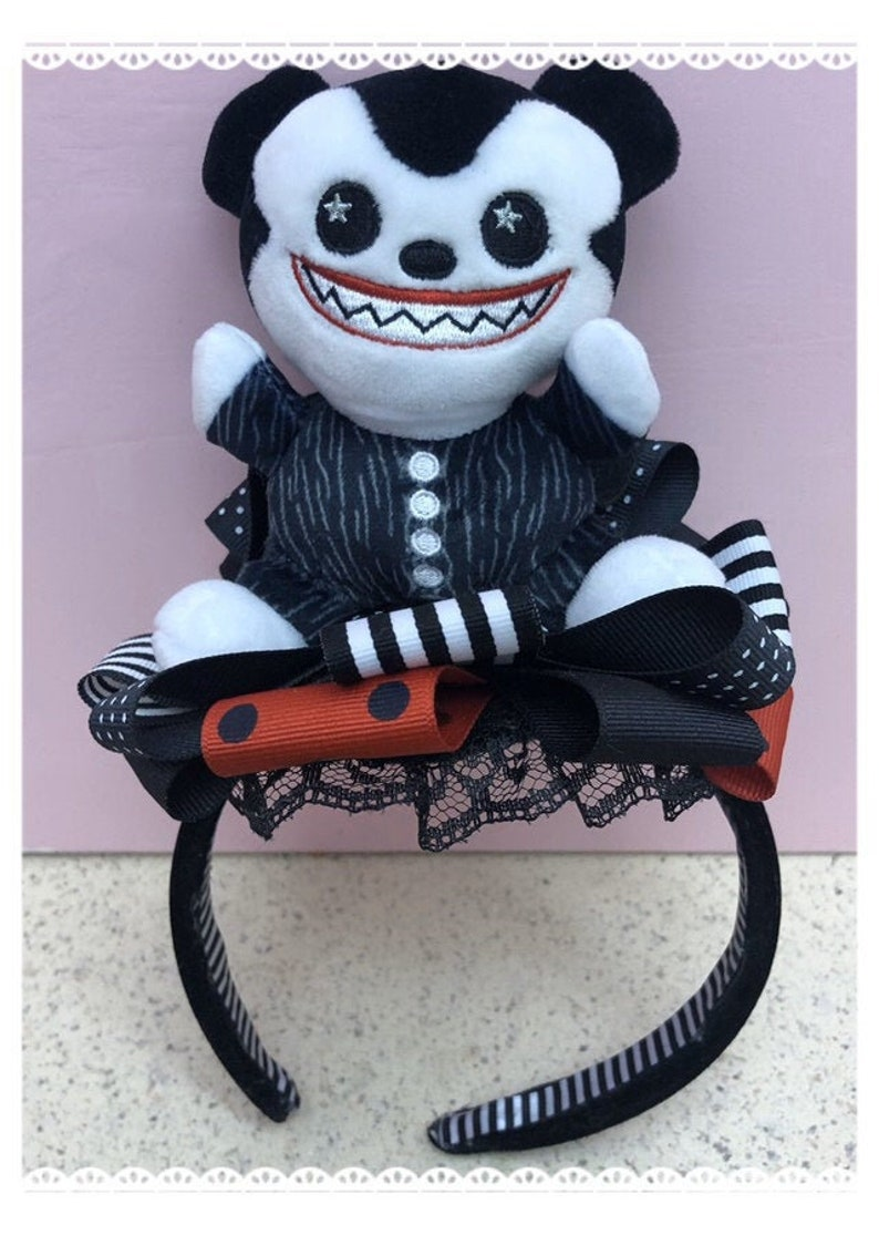 Disney Wishables scary teddy headband image 0