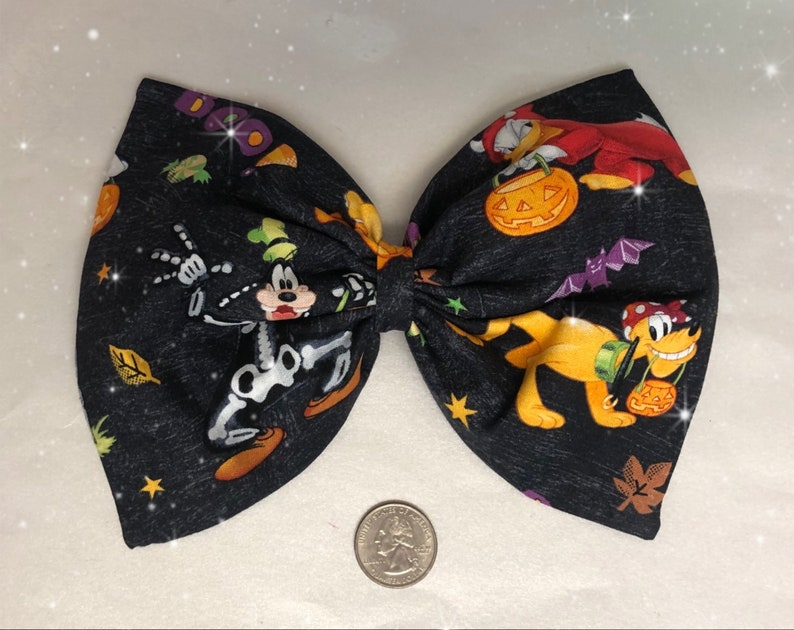 Disney Halloween hair bow image 0