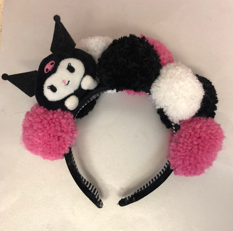 Sanrio Kuromi Pom Pom headband image 0