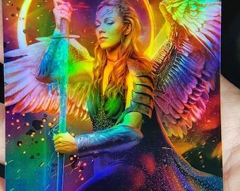 for Resplendent Angel 1x Angel #24 *FOIL LAMINATED* Custom Altered Tokens M19