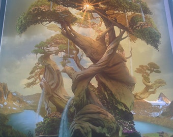Art Print **The Tree of Life** 13x19 Inches MTG