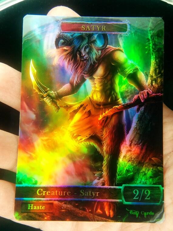 Theros Magic token-Satyr Juego Piedra-Satyr
