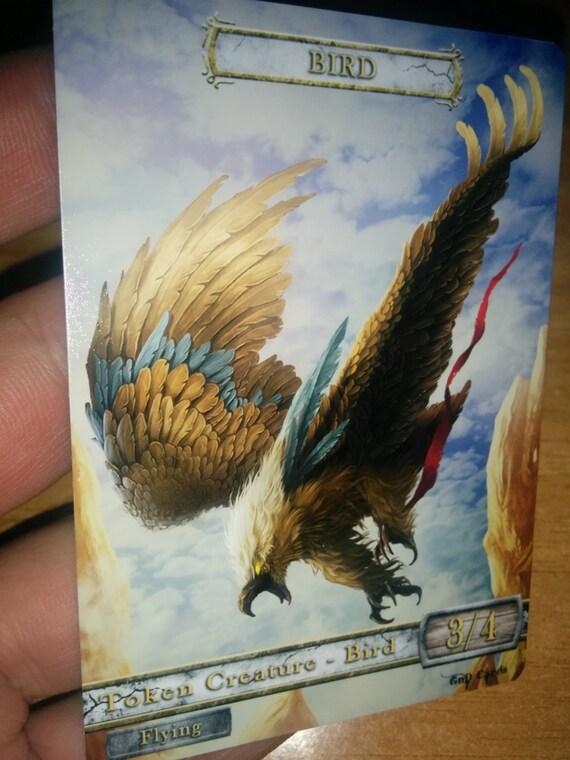 Khans of Tarkir 4 Bird Token