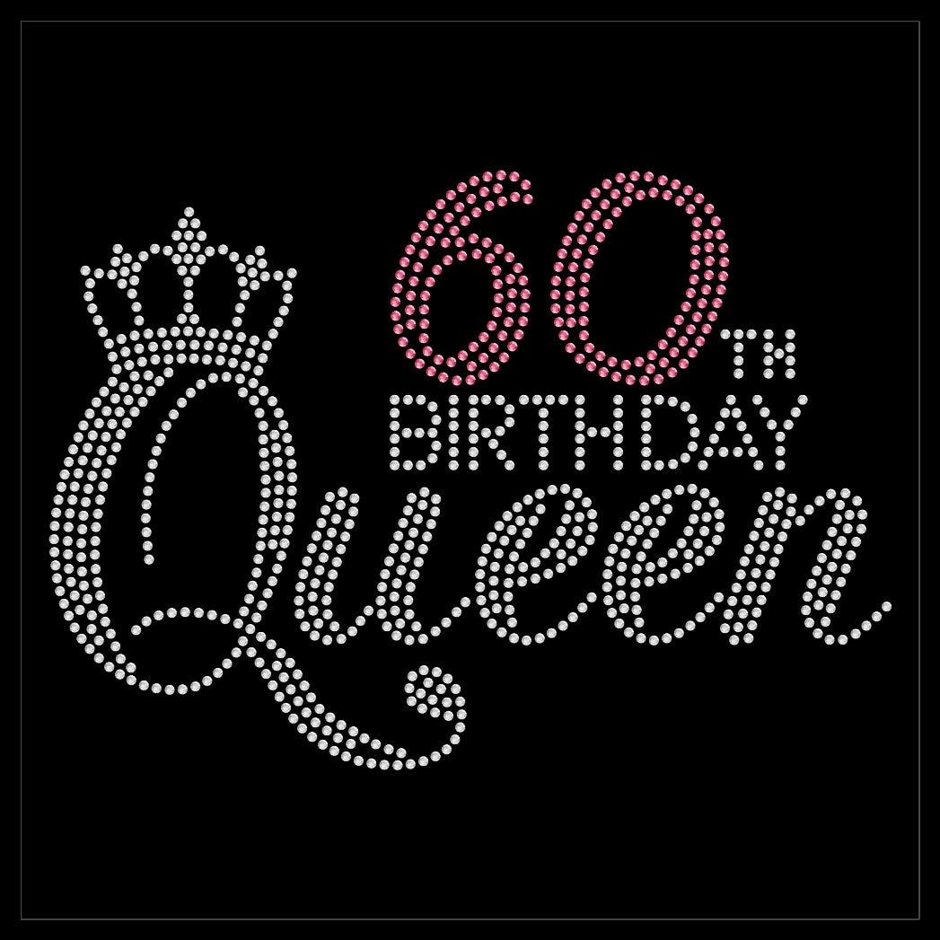 Fabulous Diva 60 60th Birthday Queen Party Sexy Rhinestone ...