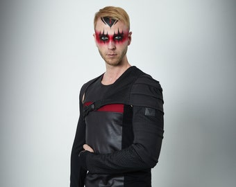 Cyberpunk sleeve with pocket wasteland harness with one sleeve -  AS Man