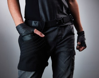 Leg bag belt waist bag thigh holster with magnetic buckles - HOL