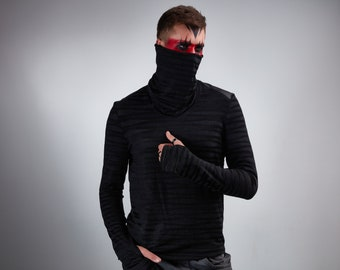 Long sleeve shirt, thumbhole sweater  - F4-s