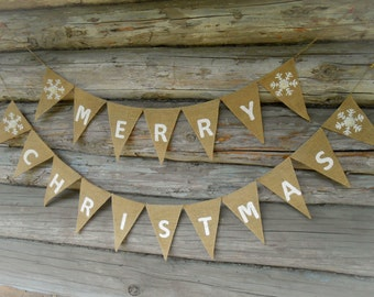 Merry Christmas Sign Christmas Banner Holiday Decor Scandinavian Christmas Decor Swedish Christmas Merry Christmas Garland Holiday Banner
