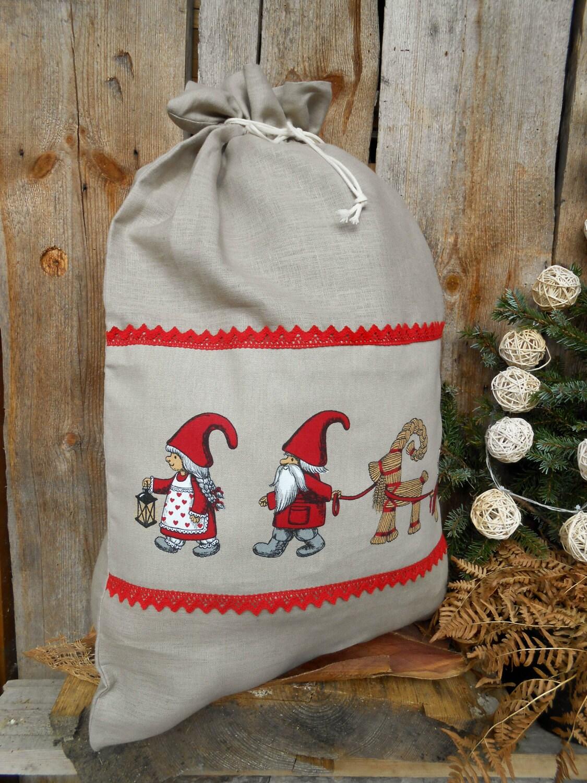 Skandinavische Weihnachtsgeschenk Tasche personalisierte | Etsy