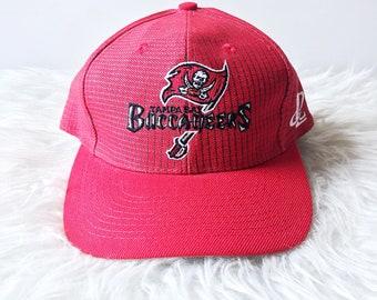 cd590c5c41816 Vintage 90 s TAMPA BAY BUCCANEERS Plaid Football Embroidered Athletic  Adjustable Snap Back Hat