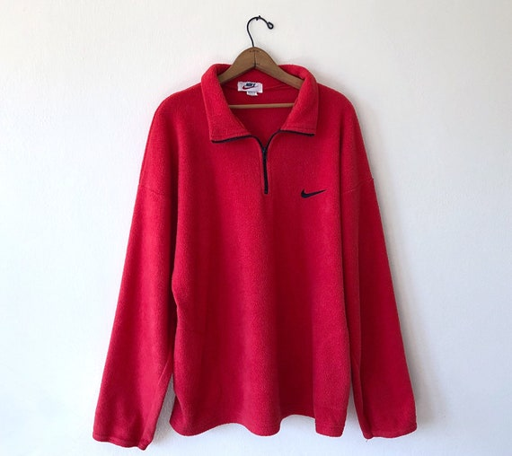 nike 1/4 zip fleece vintage