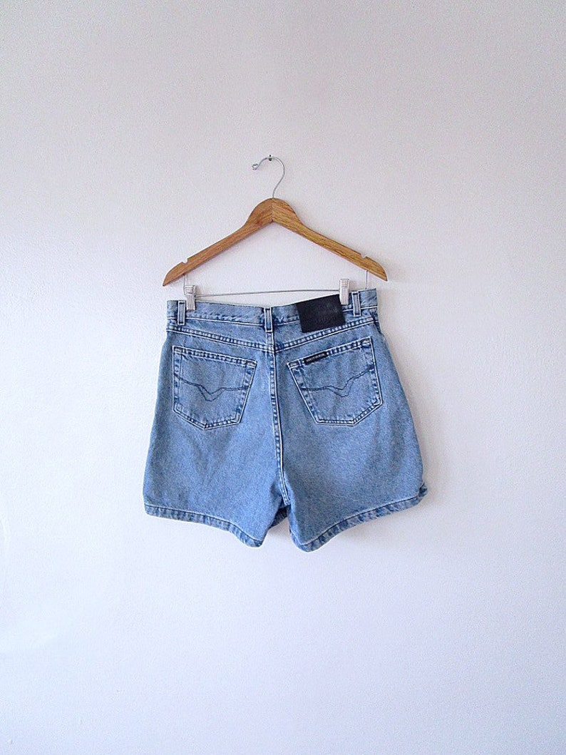 ded9524268 Wms Vintage 90's HARLEY DAVIDSON Motorcycles High Waisted   Etsy