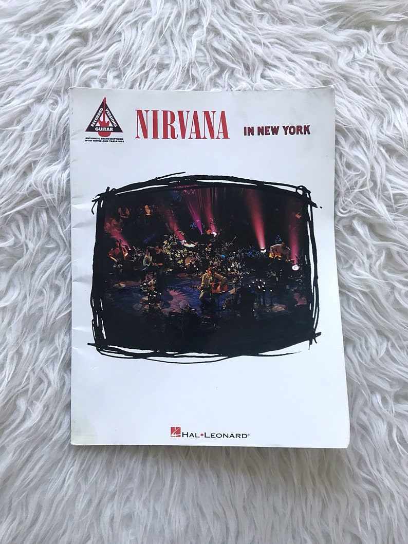 Nirvana Unplugged Tab Book