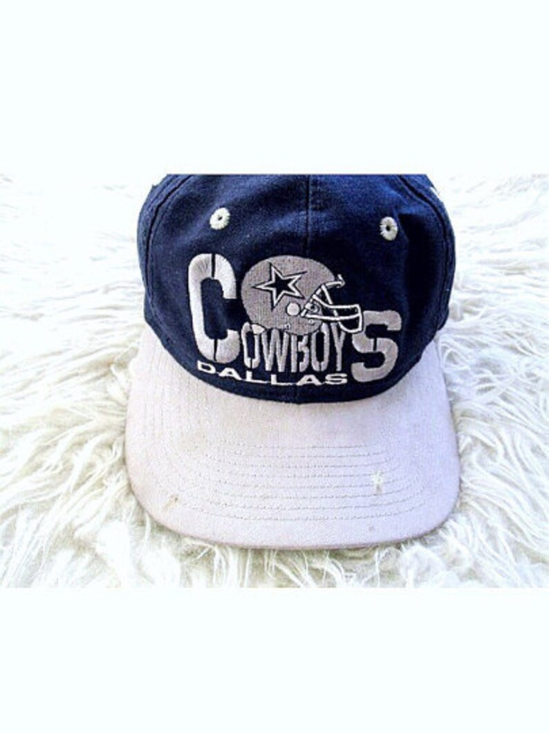 d73655b9ec691 Vintage 90 s DALLAS COWBOYS Embroidered Distressed Trashed