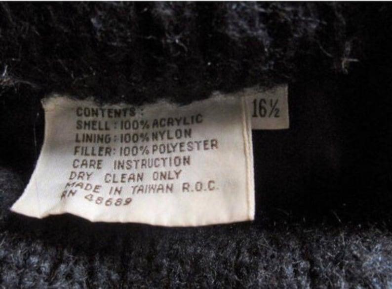 Womens Vintage 80/'s FUZZY Mod PAISLEY Swirl Swing Fashion Teddy Bear Nubby Car Coat Size 16 Large