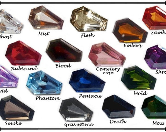 Coffin Gems® - LOOSE COFFIN GEMSTONE
